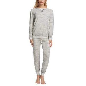 Felina Crew Neck Jogger Lounge Pajama Set L